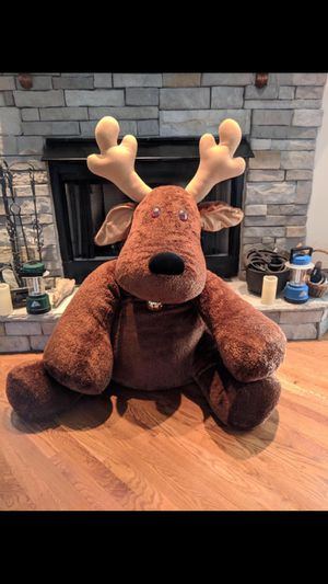 "New Hallmark Rodney the Reindeer jumbo 48"" plush for Sale in Smyrna, TN"