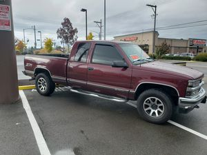 97 chevy 4x4 truck for Sale in Tacoma, WA