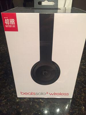 Beats solo3 wireless headphones for Sale in Salt Lake City, UT