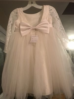 Flower girl dress and shoes David's bridal for Sale in Murfreesboro, TN