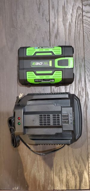 EGO 56V 2.5 AH Battery and Charger NEW! for Sale in Cicero, IL