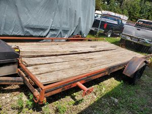 Traila 15pies / Trailer 15 feet for Sale in Houston, TX