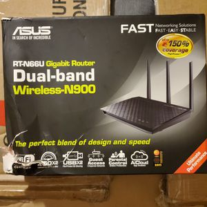 New ASUS RT-N66U GIGABIT DUAL-BAND WIRELESS ROUTER for Sale in Coronado, CA
