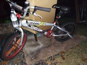 Mongoose rebel bmx bike for Sale in Bartow, FL