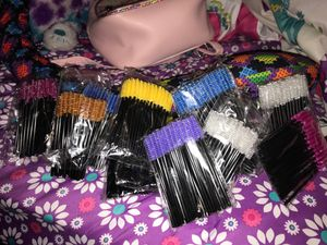 Lash brushes packs of 12 comes with at least 25 in each pack for Sale in Decatur, GA