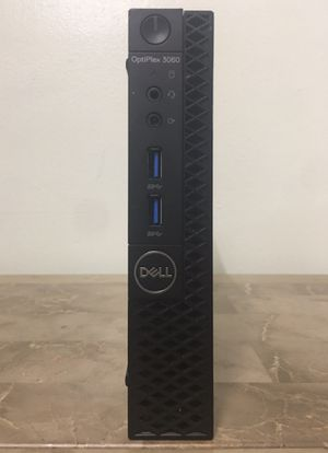 Micro DELL Optiplex 3060 Core i5 Corei5 8th gen. 8GB RAM 256GB SSD HDMI WiFi Bluetooth Windows 10 desktop computer for Sale in Pembroke Pines, FL