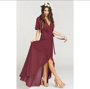 Show Me Your Mumu Wrap Sophia Maxi Dress for Sale in Winchester, CA