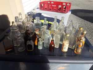 Antique medicine and liquor bottles for Sale in Tennerton, WV