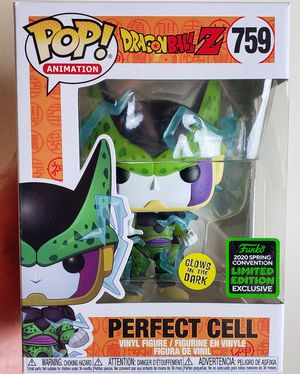 FUNKO POP DRAGON BALL Z POP! ANIMATION PERFECT CELL GLOW-IN-THE-DARK VINYL FIGURE 2020 SPRING CONVENTION EXCLUSIVE for Sale in Miami, FL