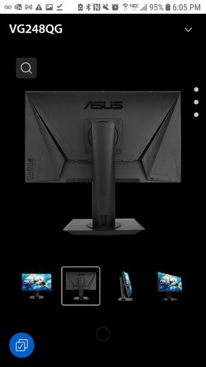 """BRAND NEW MODEL ASUS GAMING MONITOR 1920X1280 144hz REFRESH RATE 16:9 ASUS VG248 24"""" COMPUTER MONITOR for Sale in Irving, TX"""