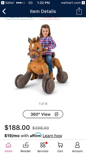 Powerwheels horse for Sale in Morganfield, KY