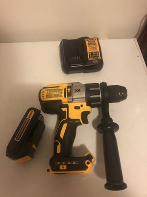 New dewalt hammer drill with battery and charger for Sale in Yonkers, NY