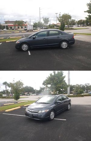 Honda Civic Hybrid 104000 ml. Save money!!! for Sale in Hollywood, FL