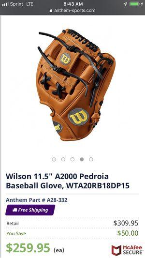 A2000 baseball glove 90% new for Sale in Wimauma, FL
