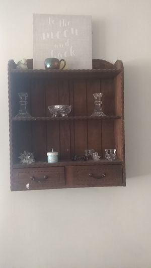 Decorative hanging shelf unit for Sale in Queens, NY