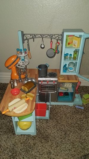 American Girl Gourmet kitchen set for Sale in West Covina, CA