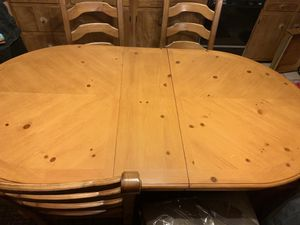 Wooden Kitchen Table With Chairs for Sale in Randolph, MA