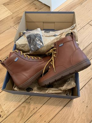 Lems Leather Boulder Boots Unisex, Russet Brown, Size 9 M/10.5 W for Sale in West Sacramento, CA