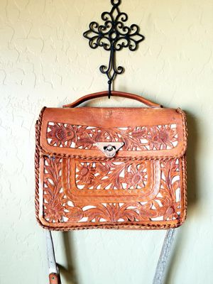 Vintage leather Mexican tooled purse for Sale in Mesa, AZ
