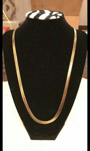 Gold Herringbone Chain for Sale in Anaheim, CA