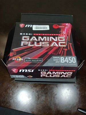 MSI B450i Gaming ITX Motherboard AM4 Ryzen for Sale in Pasadena, CA