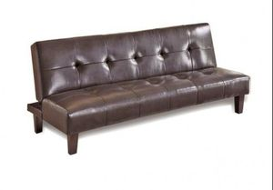 Faux Leather Futon for Sale in Casselberry, FL