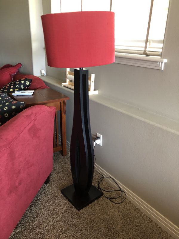 Lamp set. One tall one short