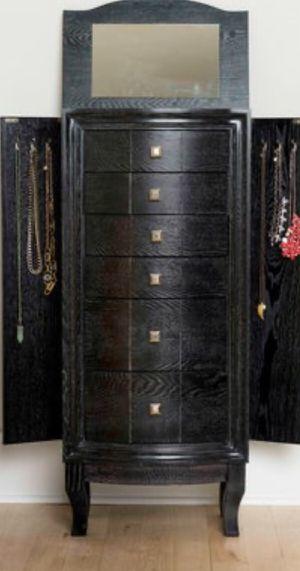 New!! Armoire, cabinet, 2 door 6 drawers cabinet w mirror, storage unit, organizer, dinning room furniture, kitchen furniture, buffet for Sale in Phoenix, AZ