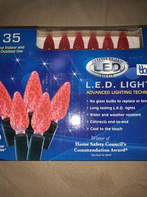 L.E.D. lights string of 35 for Sale in Santa Maria, CA