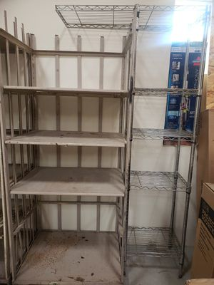 Large commercial grade metal shelves for Sale in Henderson, NV