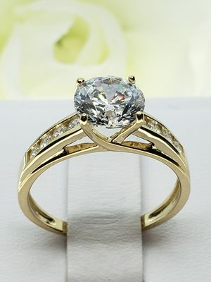 14K solid Gold trellis Engagement Rings for Sale in Ontario, CA