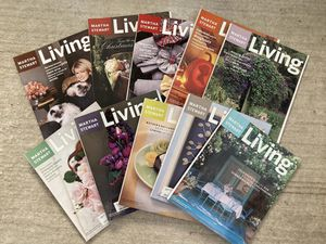 Lot of 10 Martha Stewart Magazines for Sale in Riverside, CA