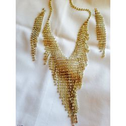 Diamond necklace and earrings for Sale in La Vergne,  TN
