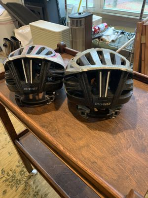 SPECIALIZED BRAND HIS/HERS ADULT BICYCLE HELMETS for Sale in Winder, GA