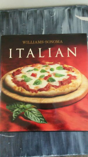 Italian cook book Williams Sonoma for Sale in Mount Laurel Township, NJ