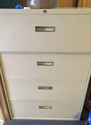 Large 4-drawer filing cabinet for Sale in Chino, CA