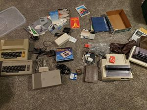 Atari, Commodore, Sega, Modded Xbox, computer stuff. for Sale in Mahomet, IL