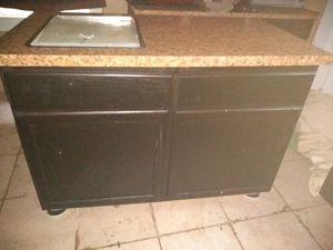 Kitchen Island-very heavy for Sale in Cleveland, OH