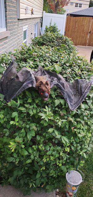 Halloween Decorations Bat for Sale in Oak Lawn, IL
