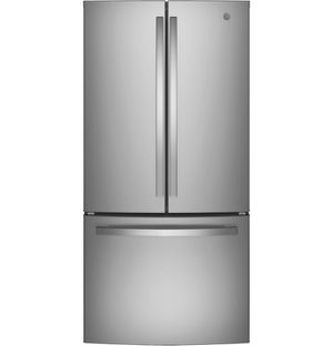 Gne25jskss – Ge® Energy Star® 24.7 Cu. Ft. French-door Refrigerator for Sale in Portland, OR