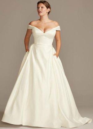 Size 24 Wedding Dress David's Bridal for Sale in Tampa, FL