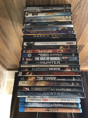 25 DVD and 3 Blu-Ray for Sale in Carrollton, TX