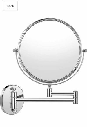 Cozzine Makeup Mirror Wall Mounted with 10X Magnifying, Two Side Vanity Extendable Bathroom Mirror, 10X Magnification Mirror 8 Inch, Chrome Finish for Sale in Las Vegas, NV