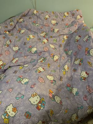 Hello Kitty twin comforter for Sale in Hanover, MD