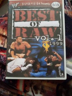 Wwf Best Of Raw Vol 1 for Sale in Chicago,  IL