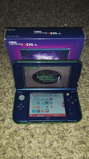 New Nintendo 3ds xl With pre installed games for Sale in Zephyrhills, FL