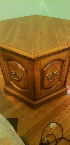Wooden end tables-have 2 for Sale in Ypsilanti, MI
