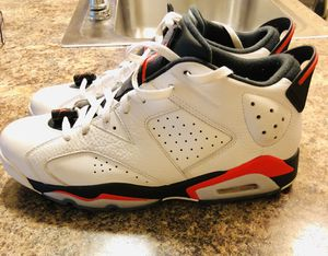 Air Jordan 6 Retro Low Infrared White size 12 for Sale in Rockville, MD