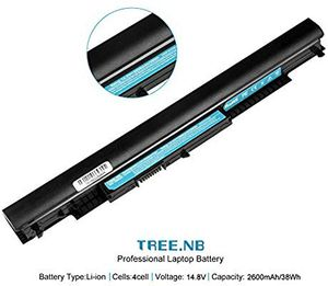 Replacement Notebook Battery for HP HS04 14.6 Volt Li-ion Laptop Battery (2200mAh / 32Wh) for Sale in Wheeling, WV