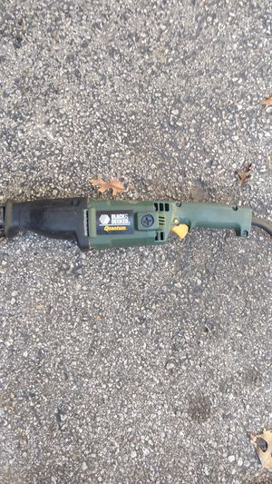 Black & Decker Reciprocating Saw for Sale in New Freedom, PA